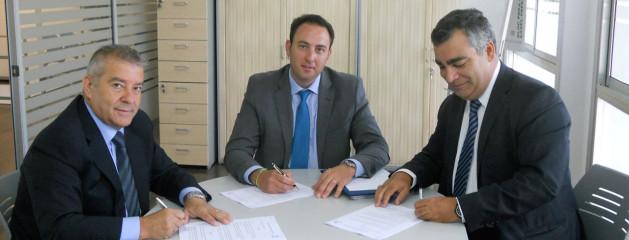 Firma de acuerdo de colaboración con GRUPO SERCA AUTOMOCION