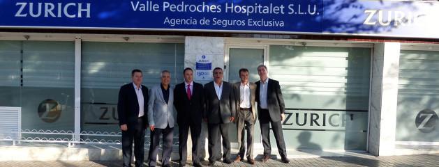Directivos de Zurich, Depsa y compañeros de profesión visitan nuestra nueva oficina