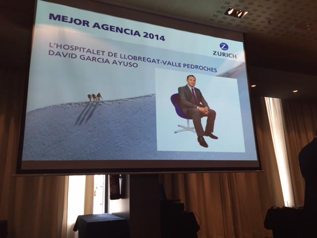 Premiados como Mejor Agencia 2014 de la Dirección Territorial de Cataluña
